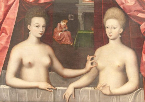 The_famous_painting_of_the_nipple_tweeking_sisters_(8436601033)